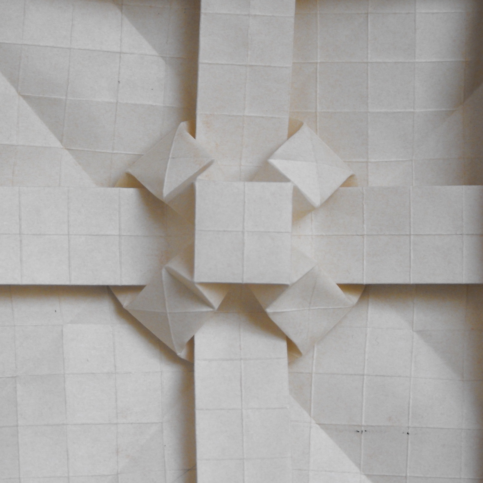 How to Make an Origami Square Box (Lid) (Tomoko Fuse) « Origami ::  WonderHowTo | 1604x1604