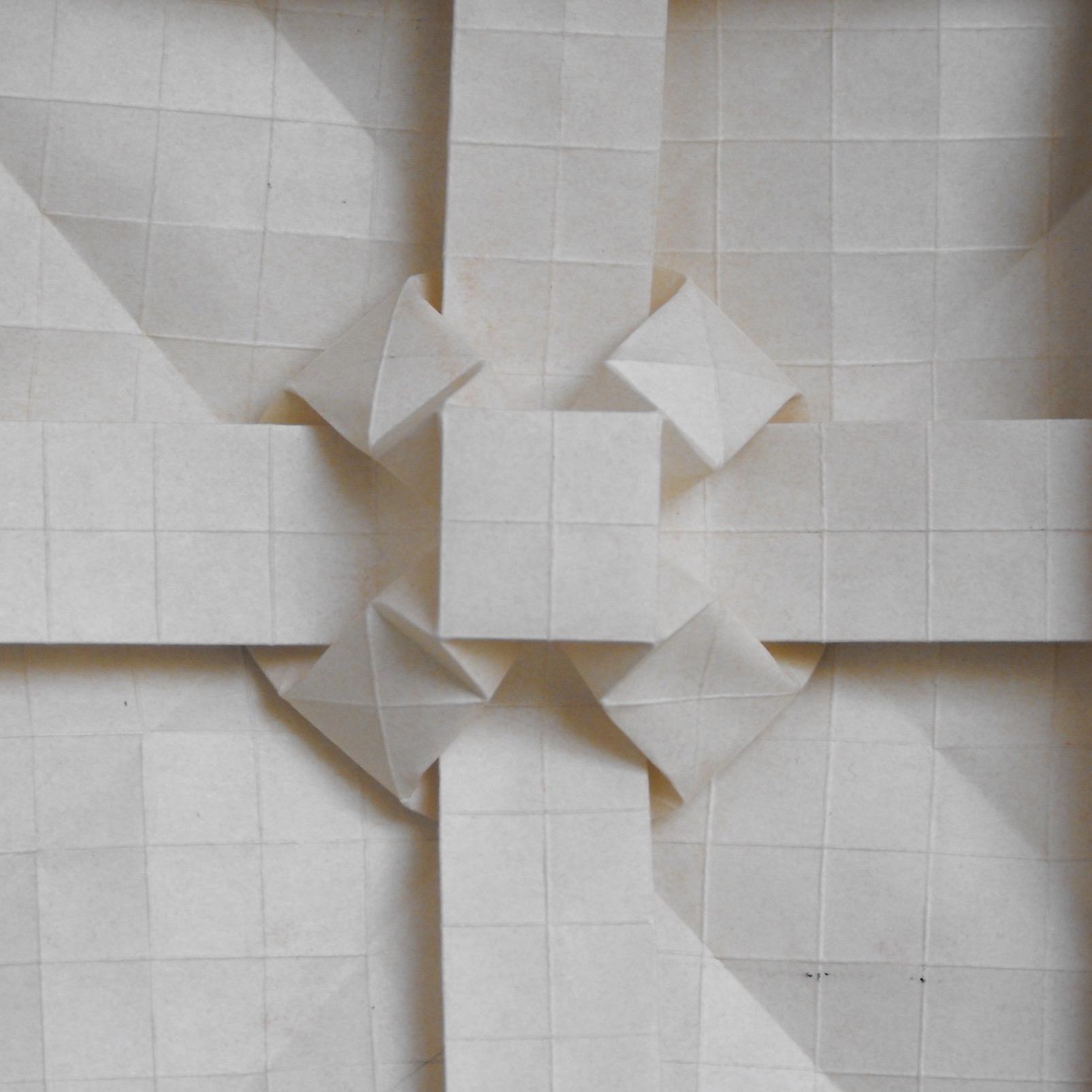 How to Make an Origami Square Box (Lid) (Tomoko Fuse) « Origami ::  WonderHowTo | 1604x1604